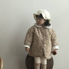 랄) 카라멜 아동 자켓