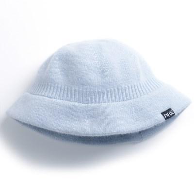 CASHMERE BUCKET HAT (SKY BLUE)_(401201921)