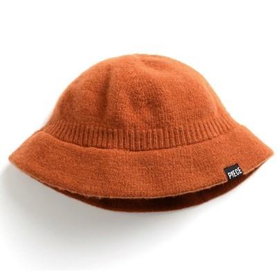 CASHMERE BUCKET HAT (BROWN)_(401201927)