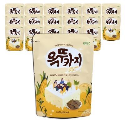 쿠키아 더 옥뚜카지 뚜부 옥수수 두부과자_50g,18개입