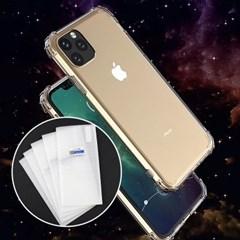 아이폰6S 강화유리 필름 불사 커버 젤리 케이스 P537_(3403825)