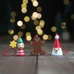 크리스마스 나무 오너먼트 장식 산타 3set - 막스(MARKS)