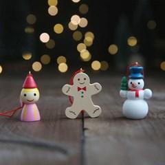 크리스마스 나무 오너먼트 장식 눈사람 3set - 막스(MARKS)