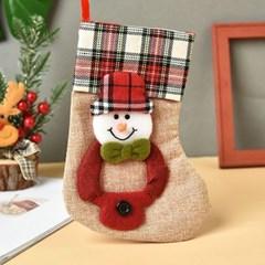 포근한 느낌 포인트소품 트리장식 크리스마스 양말