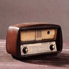 복고풍 디자인 빈티지 라디오 장식 소품
