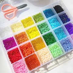 비즈 만들기 세트 DIY 키트 24 color 비즈반지 비즈공예_(2437334)
