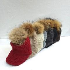방울캡 챙넓은 데일리 패션 라탄 니트 볼캡 모자