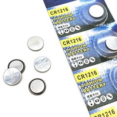 Lithium BATTERY CR1216 3V 코인건전지 낱개 1개