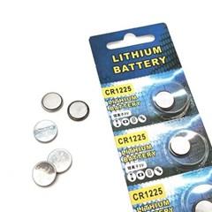 Lithium BATTERY CR1225 3V 코인건전지 낱개 1개