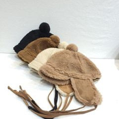 숏챙 방울캡 뽀글이 양털 귀달이 버킷햇 벙거지 모자
