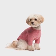 램스울 스웨터 핑크