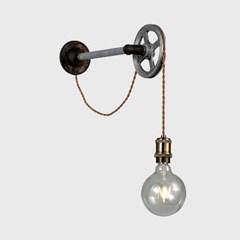LED 빈티지 로프 1등 벽등