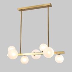 LED 셀린 7등 펜던-샴페인골드