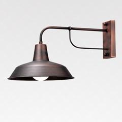 LED 빈티지 동브론즈 1등 벽등