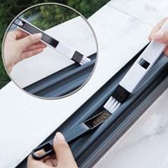창문 창틀 틈새 미니 청소솔세트