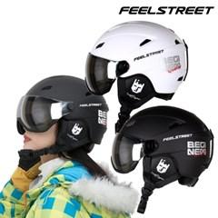 필스트리트 고급형 고글 스키&보드 헬멧 바이저헬멧