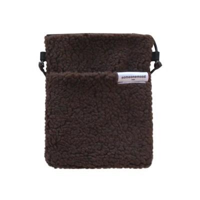 popo bag (choco brown)