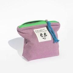 Check pouch(S)_Purple