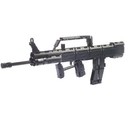 블록테크닉 QBZ95 95식소총 블럭총 작동블록 787pcs
