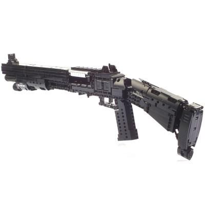 블록테크닉 베넬리 M4 샷건 블럭총 작동블록 1061pcs