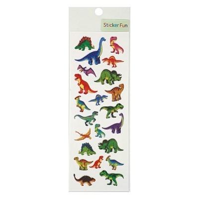 스티커펀 글리터펄 스티커(공룡) ZR361