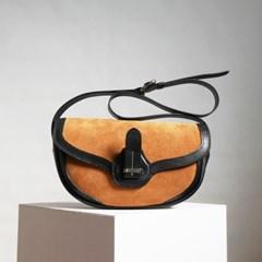 fofe bag (black/camel)