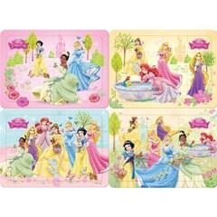 12 16 24 30조각 판퍼즐 - 디즈니 공주 가든 (4종)