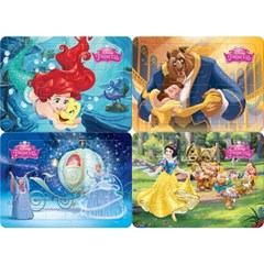 12 16 24 30조각 판퍼즐 - 디즈니 공주 컬렉션 (4종)