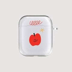 AIR PODS 투명 / 쏘프레쉬 애플-017
