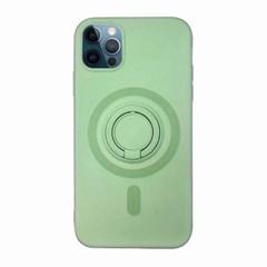 아이폰12 컬러 심플 스마트톡 실리콘 케이스 P241_(3413141)