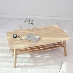 접이식 원목 심플리 테이블 90