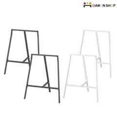 이케아 LERBERG 거치식 테이블 다리 4P세트/LINNMON 테이블/DIY책상