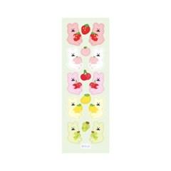 [한톨상점]반곰이 과일 씰스티커