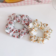 Rosy Scrunchie 로지스크런치 곱창머리끈