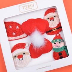 산타의선물 똑딱핀 선물세트(5P)