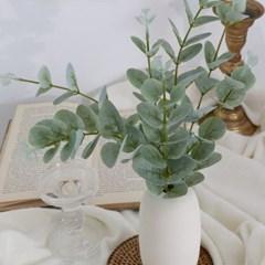 유칼립투스 싱글 조화 꽃장식 소품