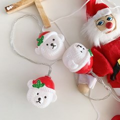 Bear Santa String Lamp 산타곰줄램프