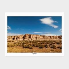 [카멜앤오아시스] Untitled 09 볼리비아 우유니 풍경 포스터