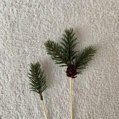 소나무조화 데코픽세트 [크리스마스,케이크토퍼]