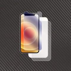 아이폰12 프로 강화유리+무광 카본후면보호필름 각1매