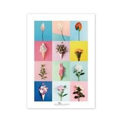 [2021 CALENDAR] Flower Series