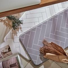 폭신하고 발이 편안한 예쁜 PVC주방매트 디자인 3종