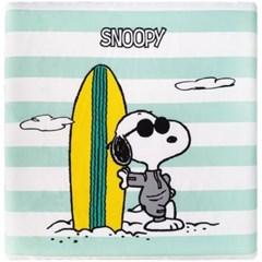 스누피 서핑 메모리폼 방석 민트 40x40_(1599054)