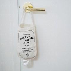 린넨 에브리데이 비닐봉투 정리백 비닐봉투 정리함_(1654546)