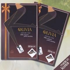 올리비아 팬티스타킹 80D 1매