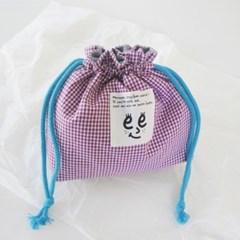 Check string pouch_Purple
