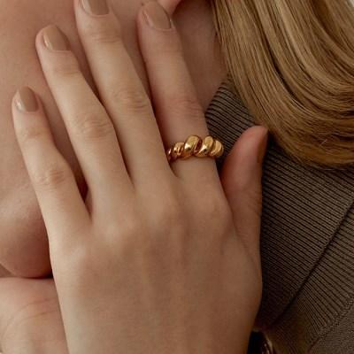 925 Silver bold twist ring (925 실버)