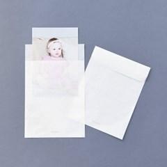 반투명 종이봉투 S 20매 - 엽서용
