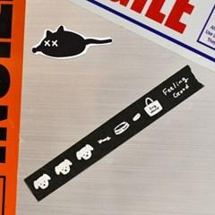 [카멜앤오아시스] Dog World 도그월드 강아지 마스킹 테이프