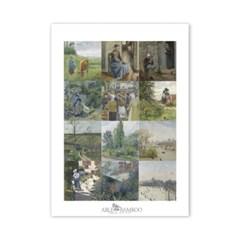[2021 명화 캘린더] Camille Pissarro 까미유 피사로 Type B
